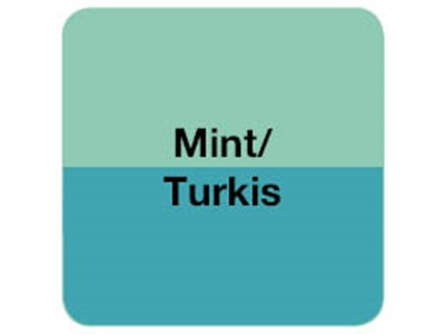 Turkis/Mint borddækning