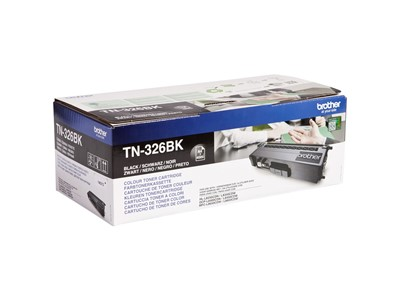LASERPATRON BROTHER TN326BK SORT HLL8250CDN/8350CDW/DCPL8400CDN/8450CDW